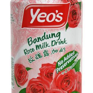 Yeo's Bandung 玫瑰露加奶