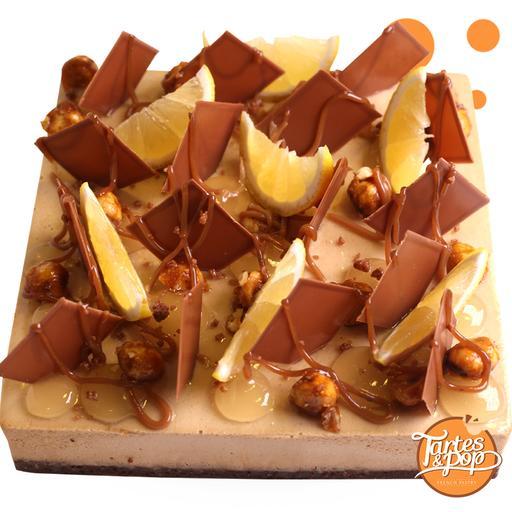 Yuzu Milk Chocolate cake