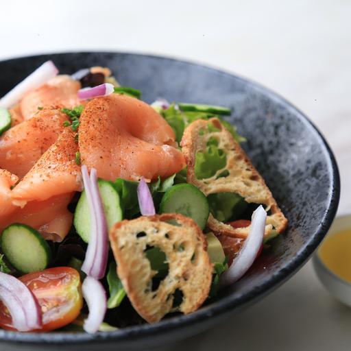 Yuzu Salmon Salad