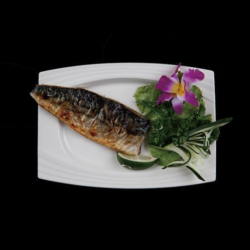烤日式鯖魚