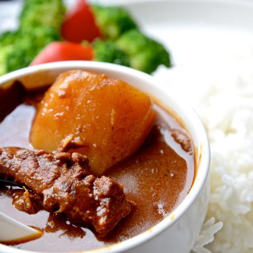 咖哩牛腩飯(辣)