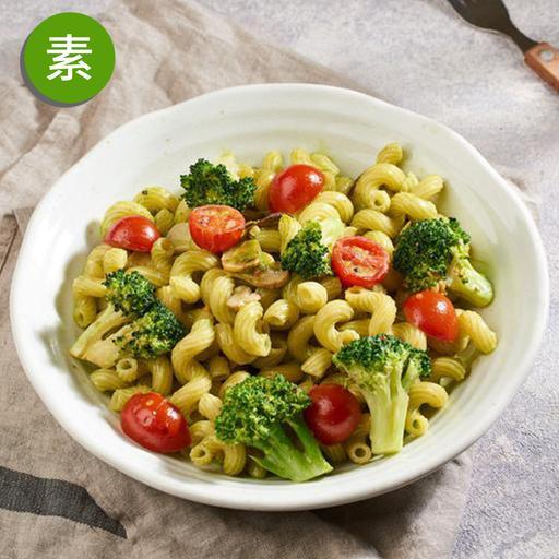 堅果野菇青醬麵