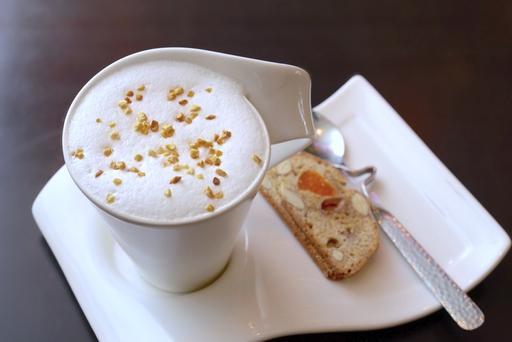 榛果拿鐵咖啡