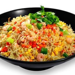 Yangzhou fried rice (no pork) 扬州炒饭