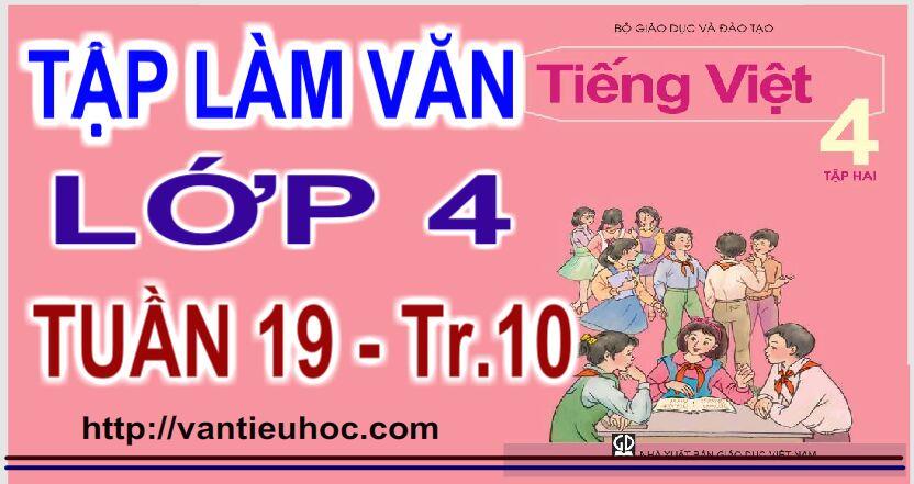 Luyện tập xây dựng mở bài trong bài văn miêu tả đồ vật – Tiếng Việt   4 – tập 2 trang  10