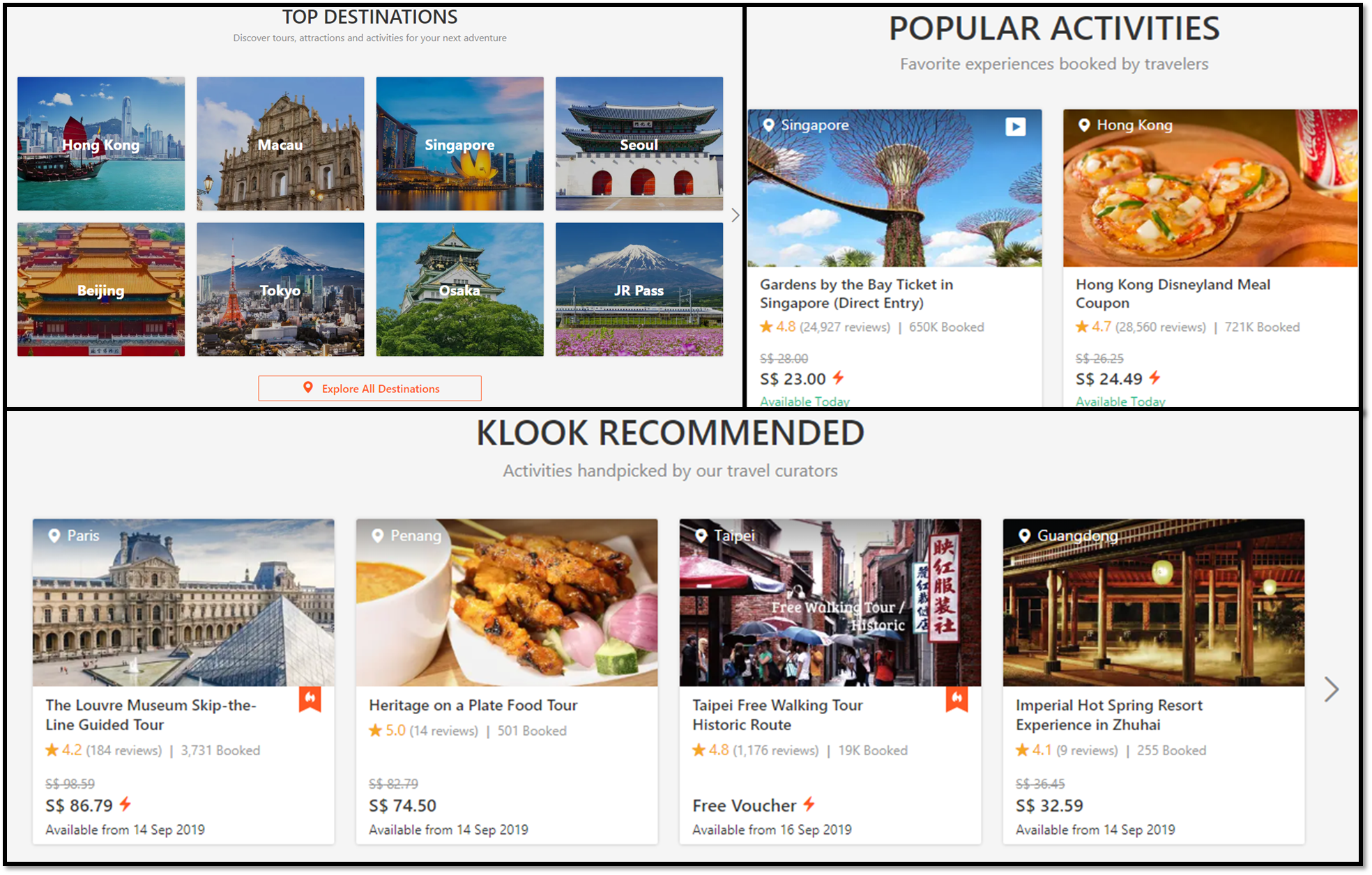 Tips For Booking Travel Activity With Klook