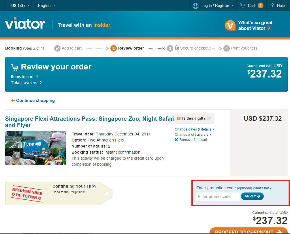 How to use a See Singapore Pass coupon