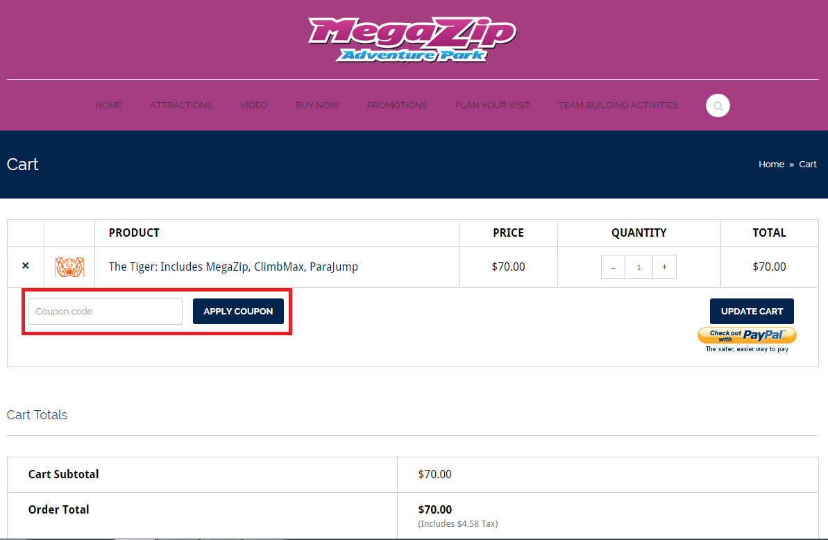 How to use a Megazip coupon