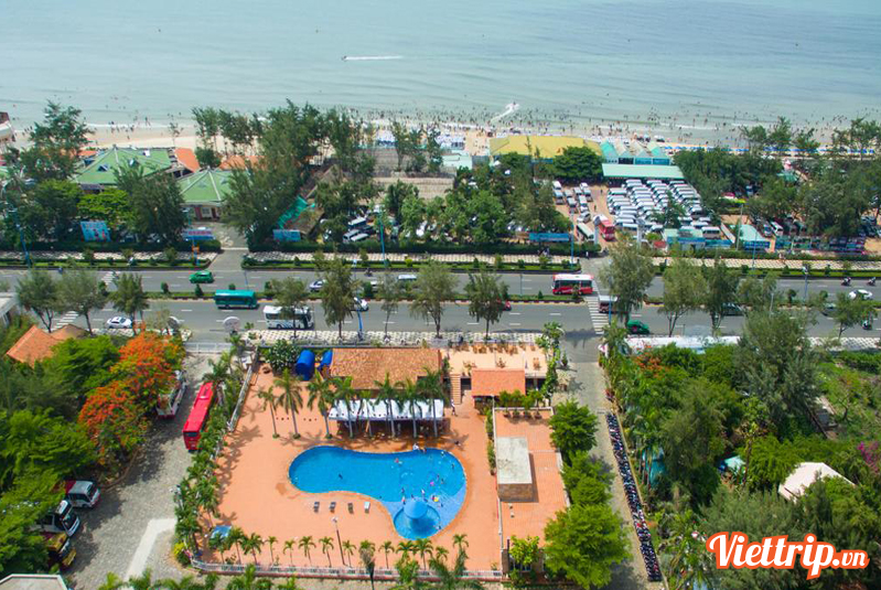 Khách sạn New Wave Vũng Tàu từ trên cao