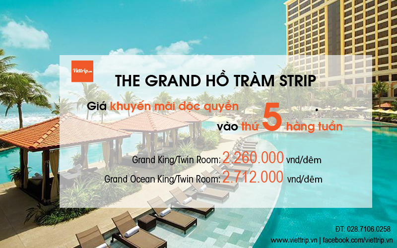The Grand Hồ Tràm Strip