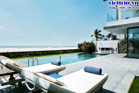 Premium beachfront villa
