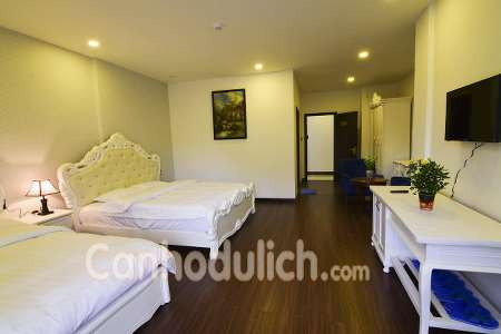 Phòng 2 giường đôi cao cấp