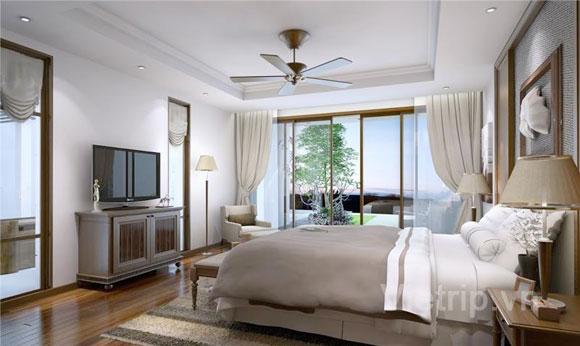 Villa 4 Phòng Ngủ Hướng Vườn-  ăn sáng