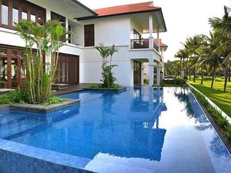 Two – Bedroom Beachfront Pool Villa