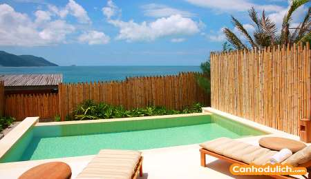 Ocean View 3 Bedroom Pool Villa  six senses côn đảo resort vũng tàu