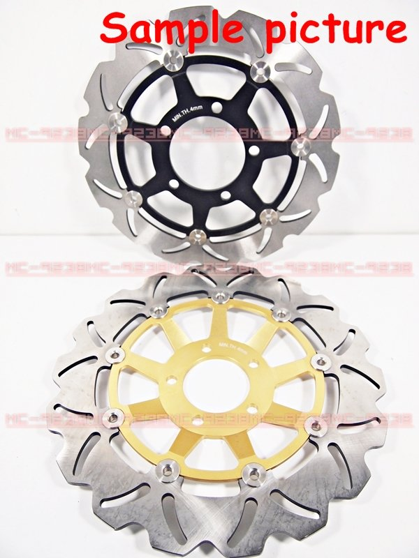2 Front Brake Disc Rotor for MOTO GUZZI BREVA GRISO NORGE SPORT 850 1100 1200