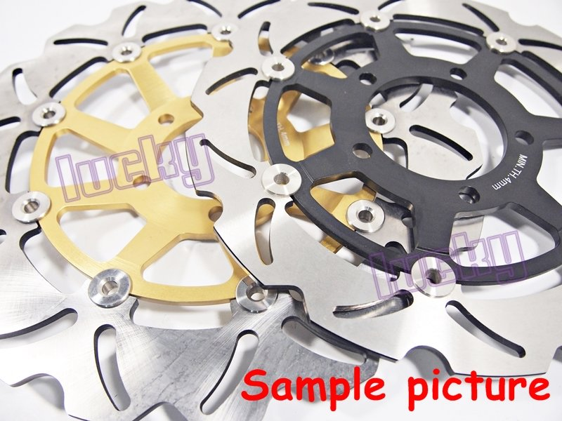 Front Brake Disc Rotor for Honda CBR1100 XX Blackbird 99 00 01 02 03-07 #gt