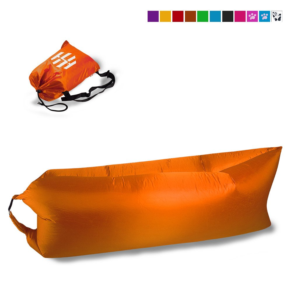 Inflatable Sofa Air Bed Lounger: Inflatable Sofa Portable Beach Air Bed Sofa Camping