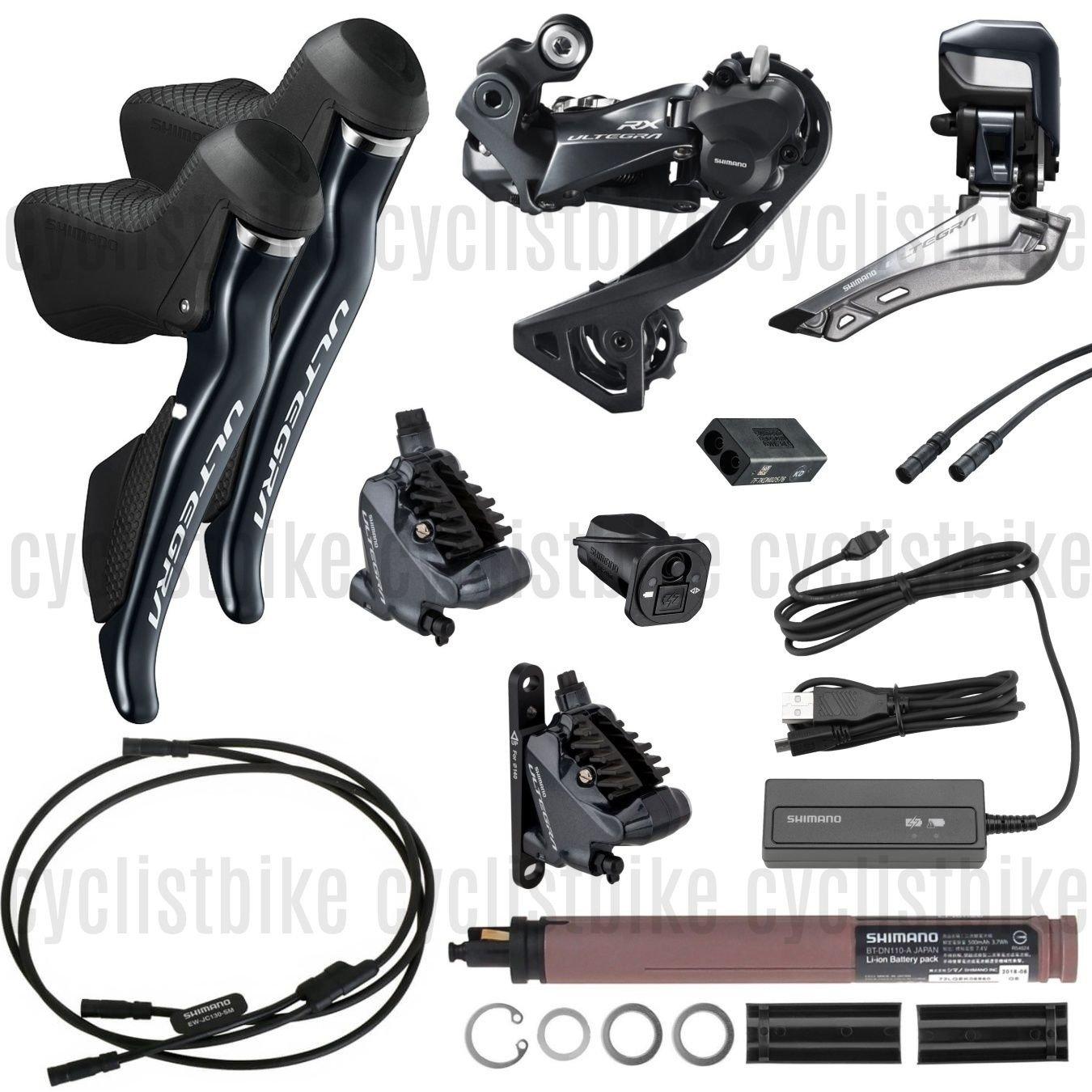 R8050 DI2 Electric Hydraulic Brakes Upgrade Groupset Kit Shimano Ultegra R8070