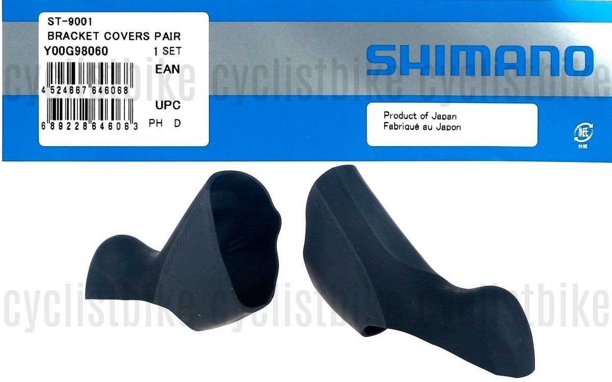 Y00G98060 Pair Shimano Dura-Ace ST-9001 Bracket Cover STI Lever Cover