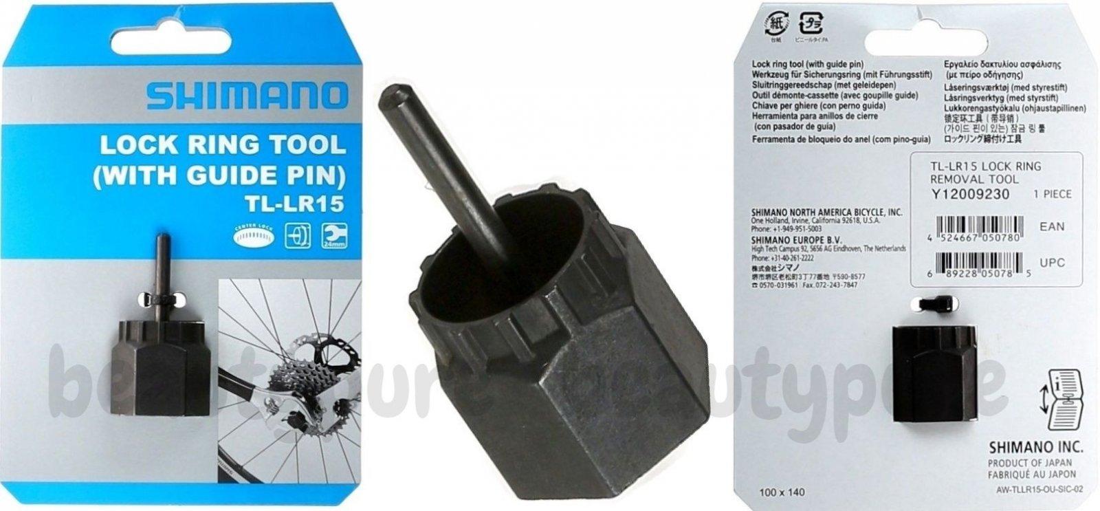 Shimano TL-LR15 Lockring Tool with Axle Pin