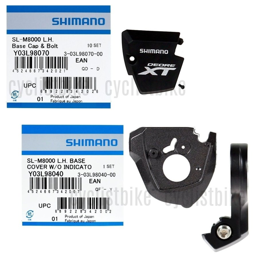 Shimano Deore XT SL-M8000 Right Hand Base Cover Unit w//Cap NIB