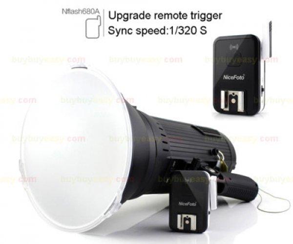 Nicefoto N680A 600W X 2 Portable Outdoor Studio Flash