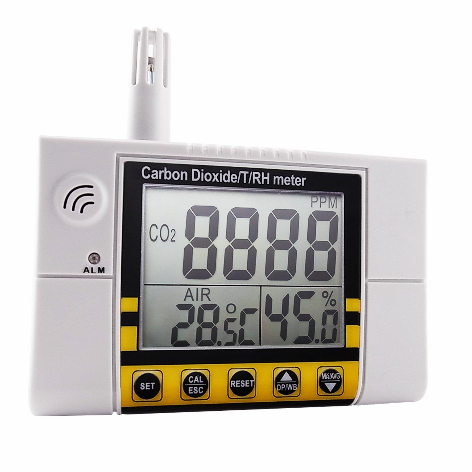 Anidride Carbonica Temperatura Umidit 224 Misuratore Iaq