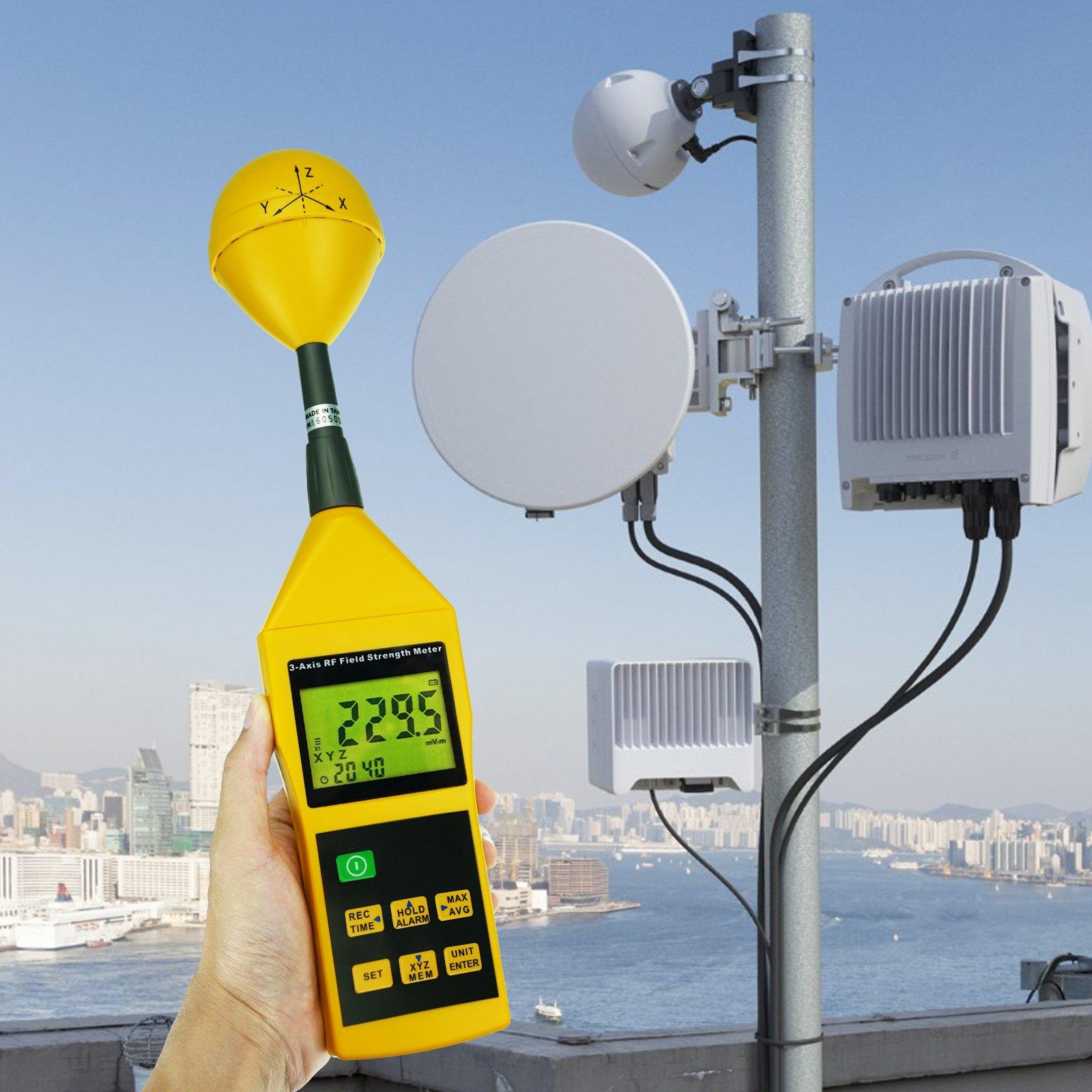 Triaxial Tri Axis Rf Field Strength Meter Radio