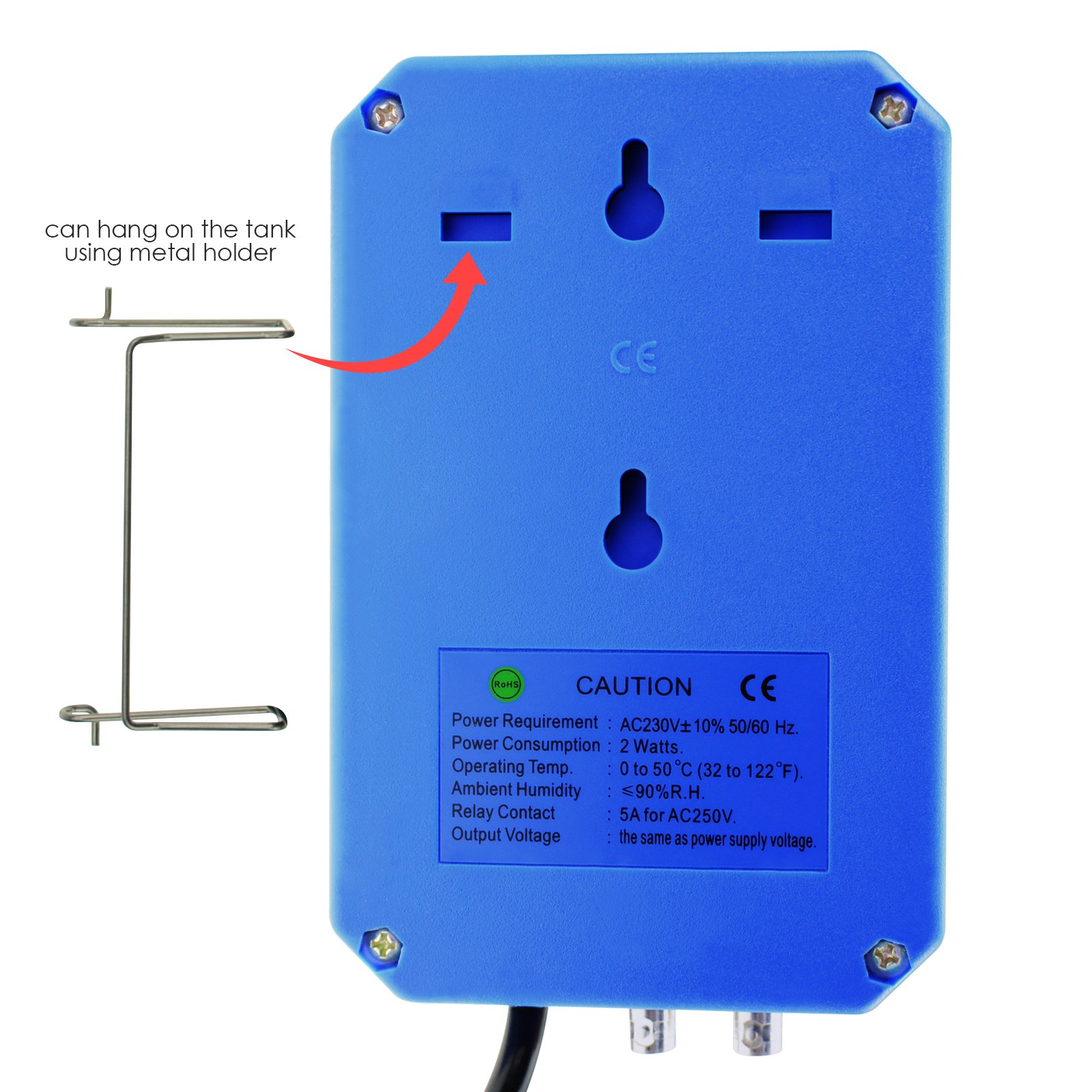 Digital Ph Orp Redox 2 In 1 Controller Monitor W Output Power Relay Usage It Comes With Bnc Electrodes And Sockets