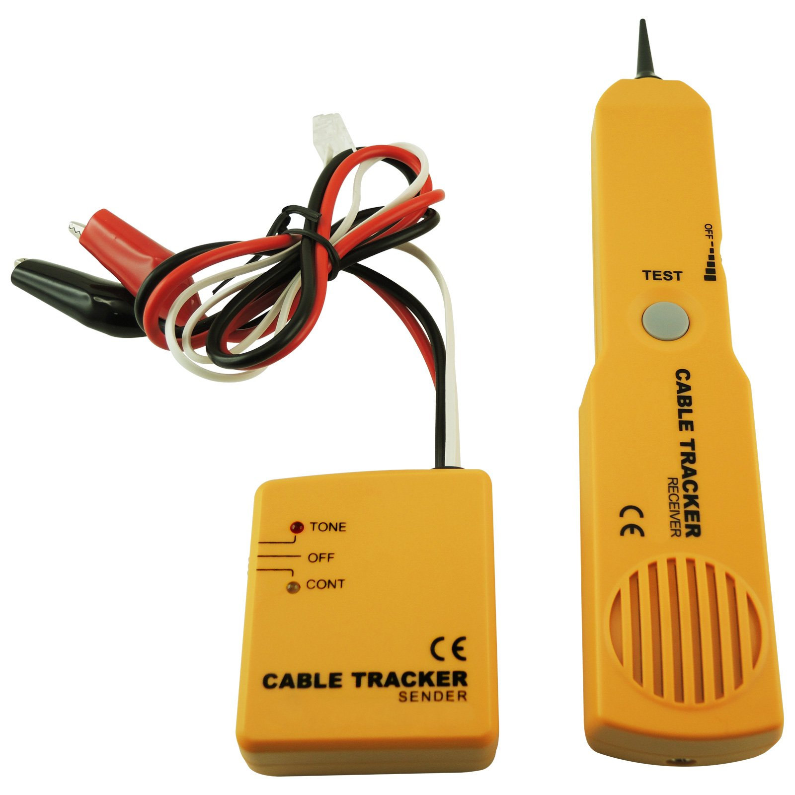 Telephone Cable Tracker Wire Tracer Tester Sender & Receiver Kit ...