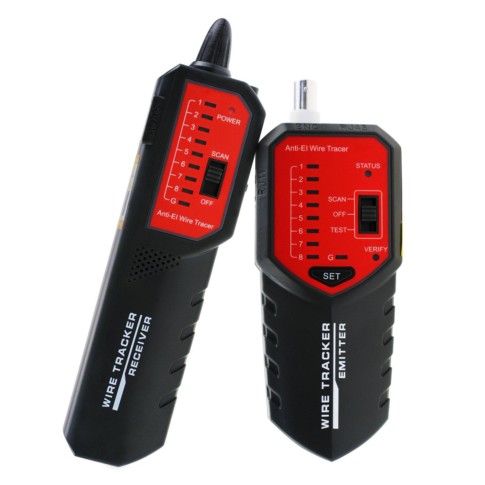 wire tracker locator rj45 rj11 bnc sorting hunting telephone coax rh ebay com