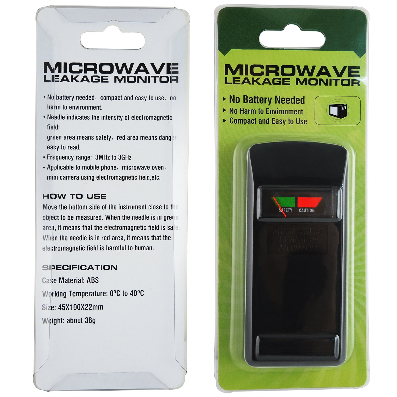 Microwave Mobile Phone Camera Leak Leakage Monitor 3mhz To
