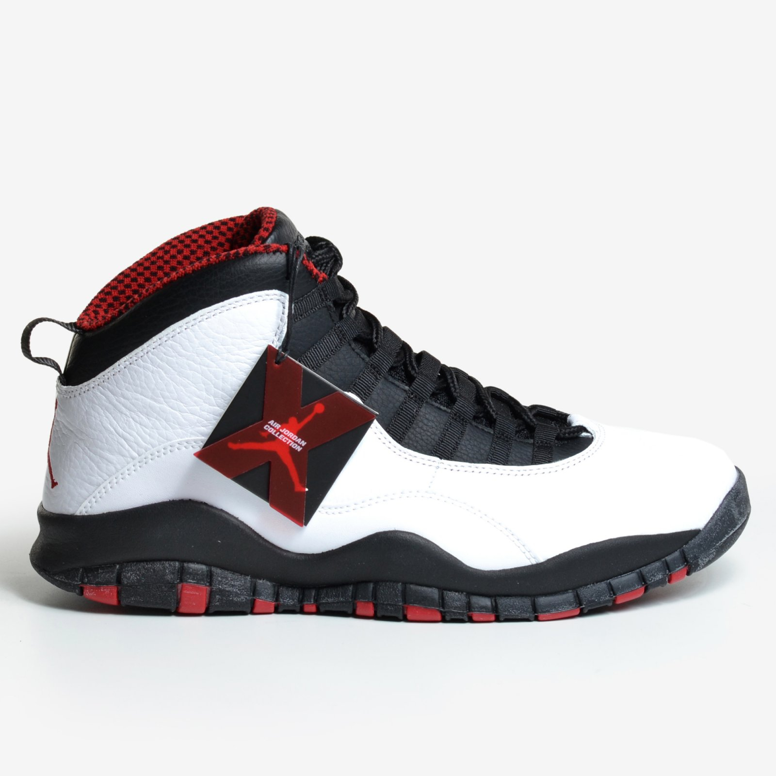 online store 01889 8536e Air Jordan 10 Retro Chicago White Varsity Red Black 2012 X Men s Nike  310805-100