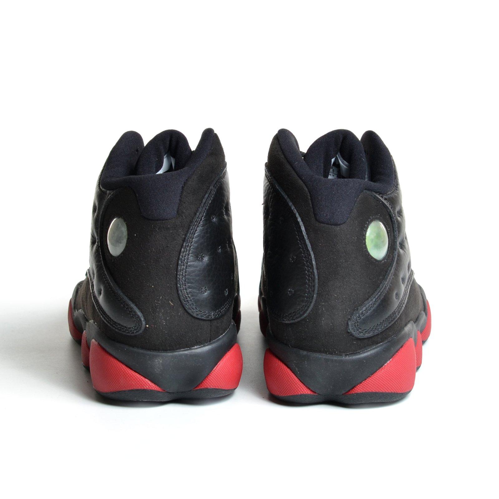 AIR JORDAN 13 RETRO DIRTY BRED 2014 BLACK GYM RED XIII MENu0026#39;S DS NIKE 414571-003 | EBay