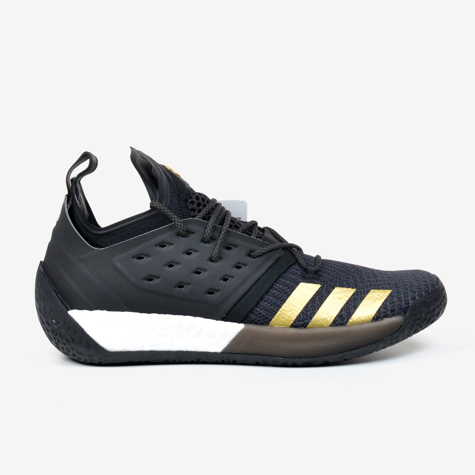 1b2b1fb8cef803 Details about Adidas Harden Vol. 2 Imma Be a Star Black Gold Basketball  Shoes Primeknit AH2215