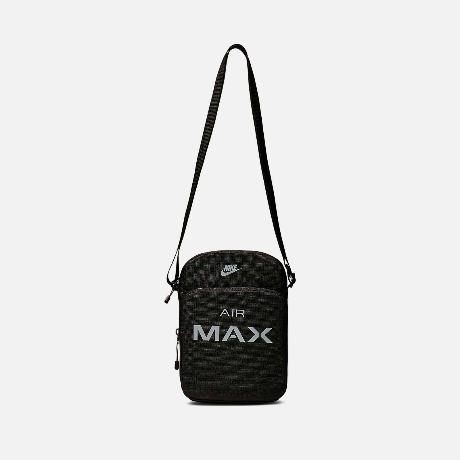6f1dbc6123 Nike Air Max Small Items Shoulder Bag Black with 2 Zip Pockets NWT  BA5776-013