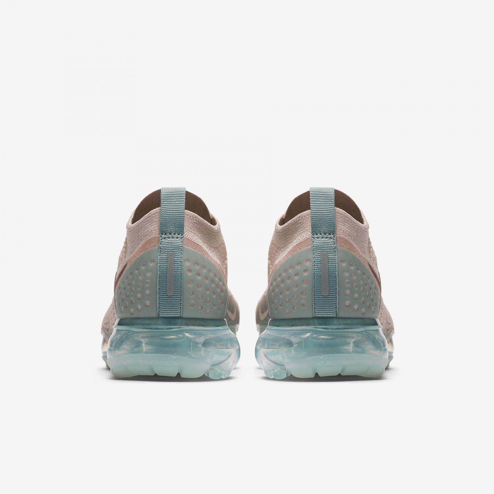 2197372c9468 Nike Women s Air VaporMax Flyknit 2 Particle Beige Mauve Running Shoe  942843-203. Nike
