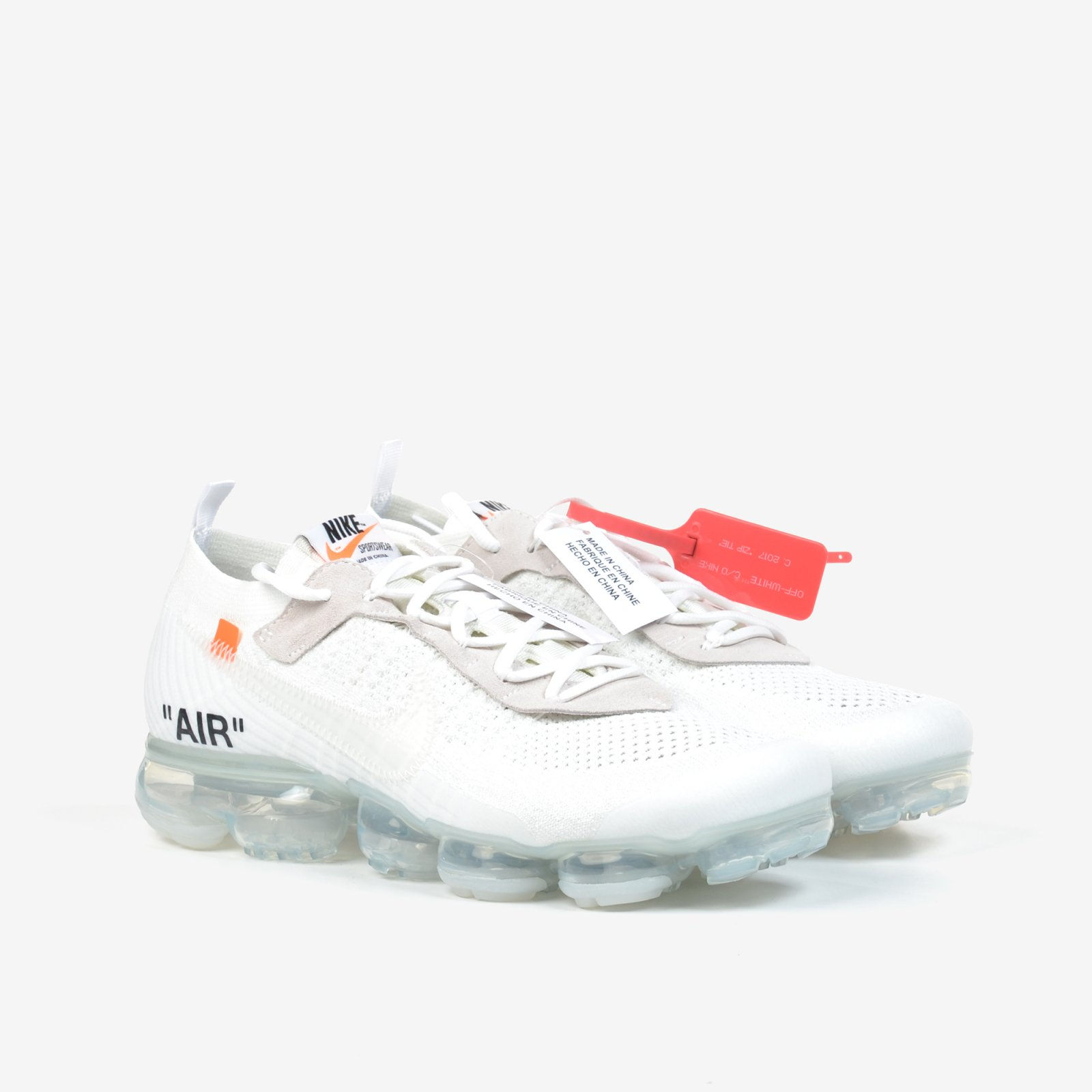 The 10 Nike Air Vapormax FK Off White Black Clear Total Orange New DS  AA3831-100. Nike faef664f1