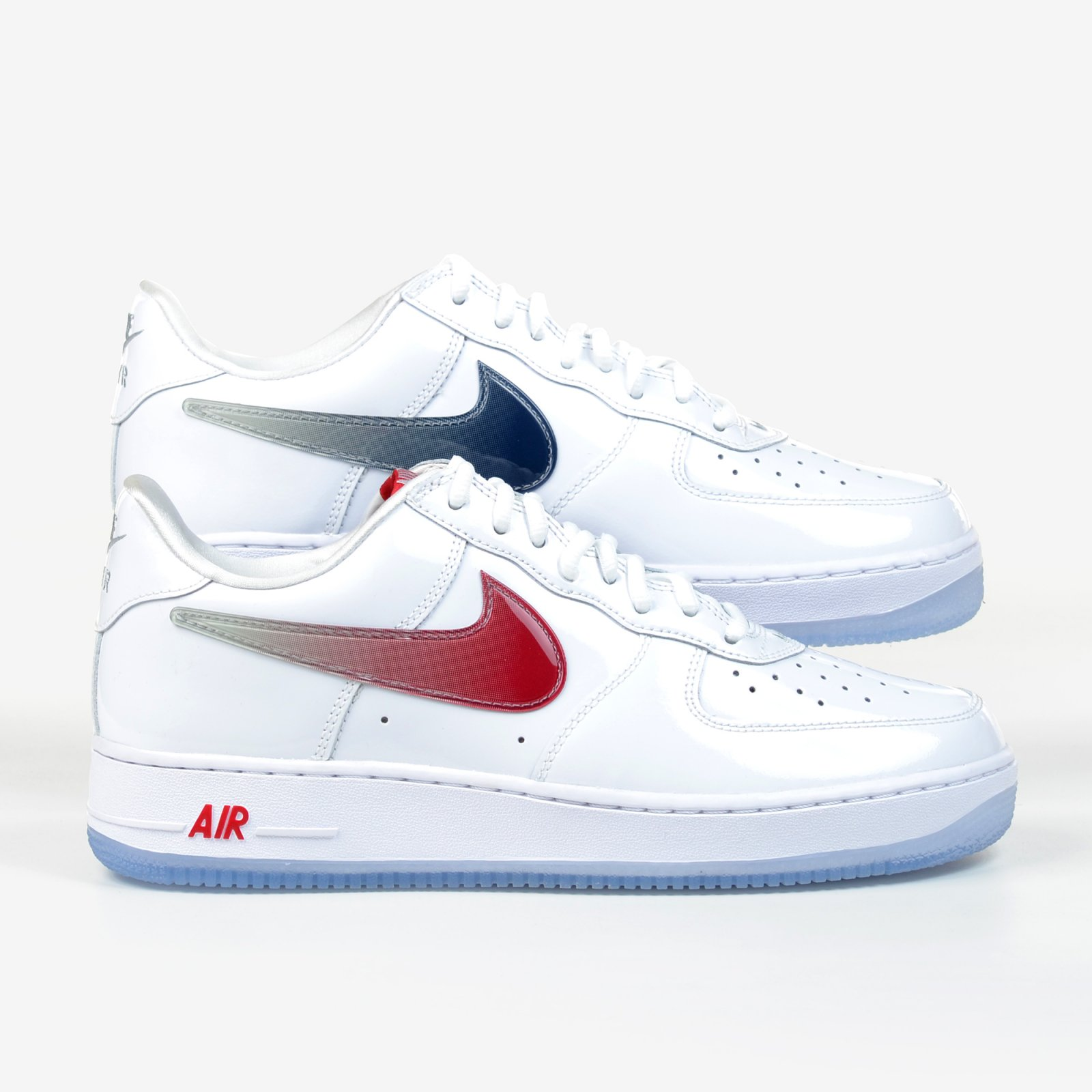 save off 771ac 75017 ... netherlands nike air force 1 low retro taiwan exclusive white patent  varsity red 845053 105 6c136