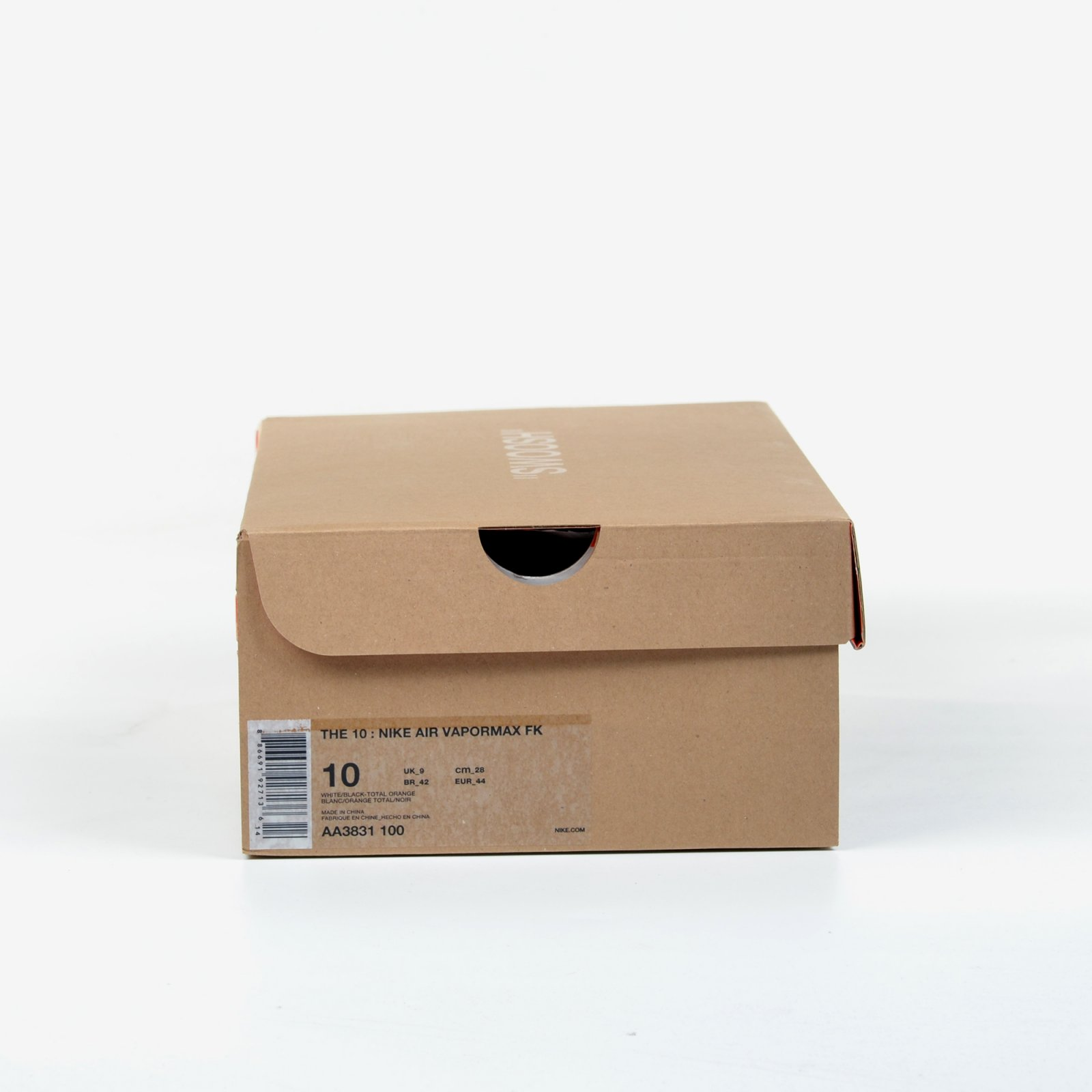 51304c9641d The 10 Nike Air Vapormax FK Off White Black Clear Total Orange New DS AA3831 -100. Nike