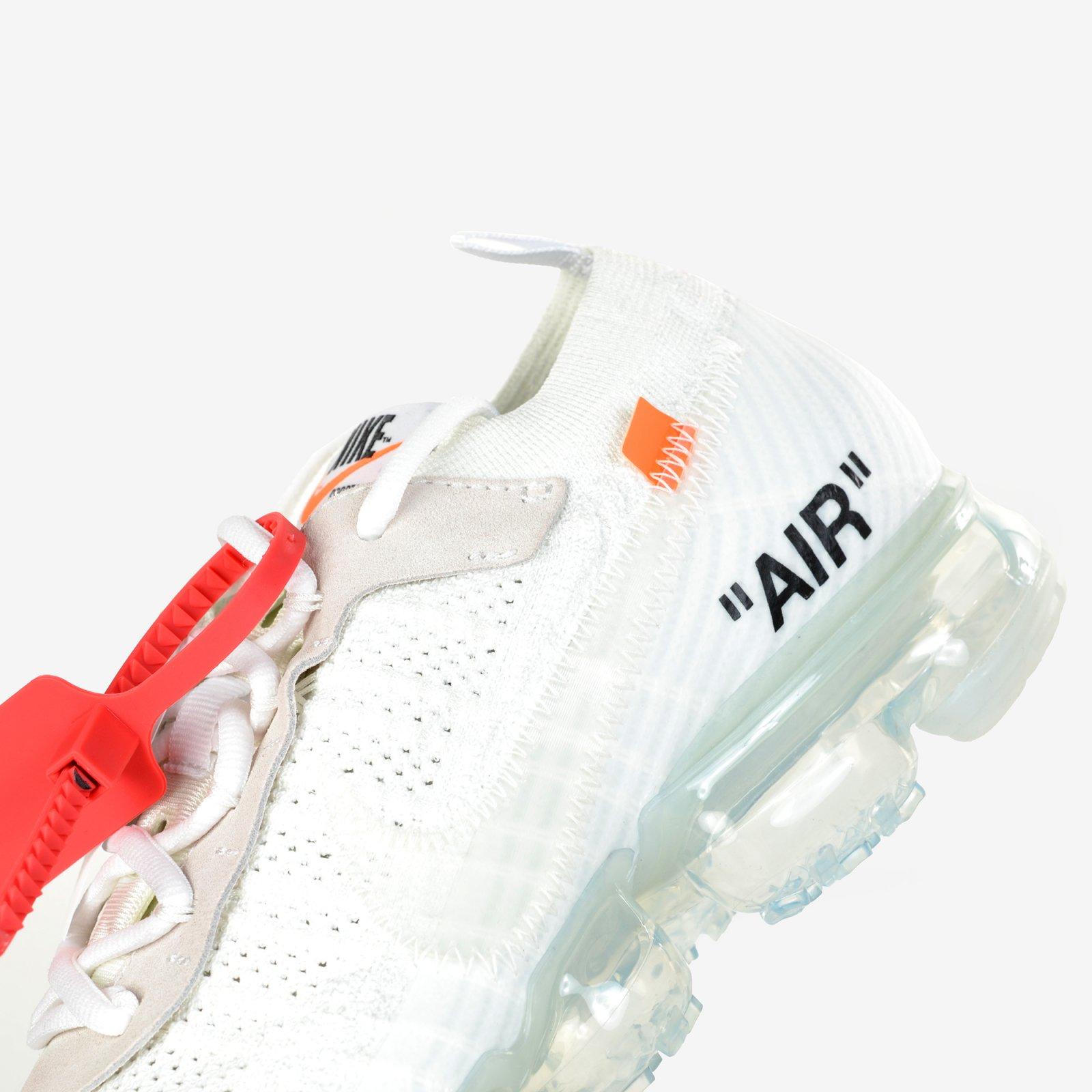 b411f397723ee The 10 Nike Air Vapormax FK Off White Black Clear Total Orange New DS AA3831 -100. Nike
