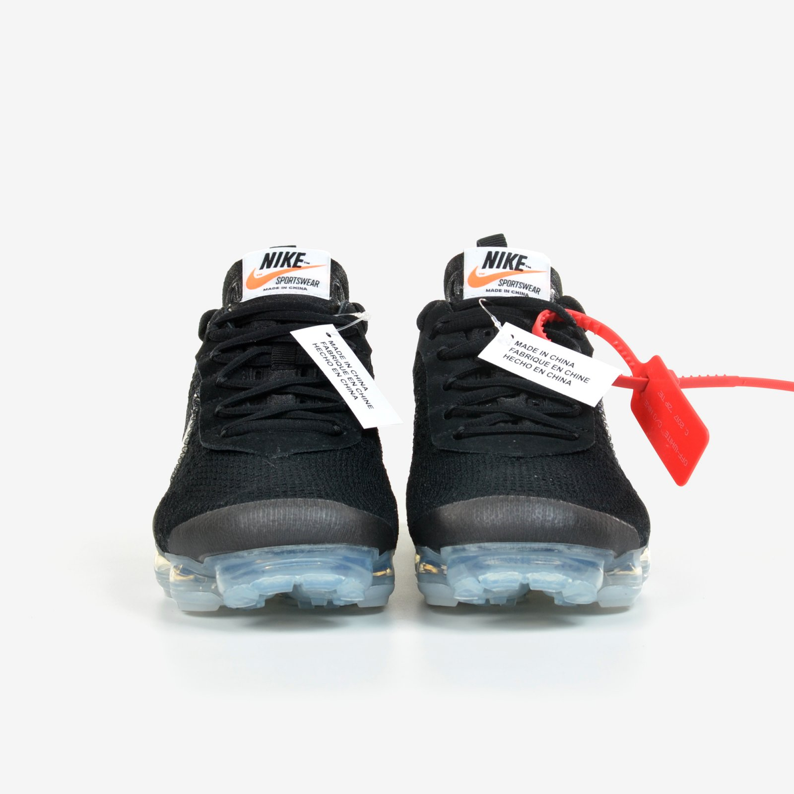 ea7472af5c6 The 10 Nike Air Vapormax FK Off White Black Clear Total Orange New DS AA3831 -002