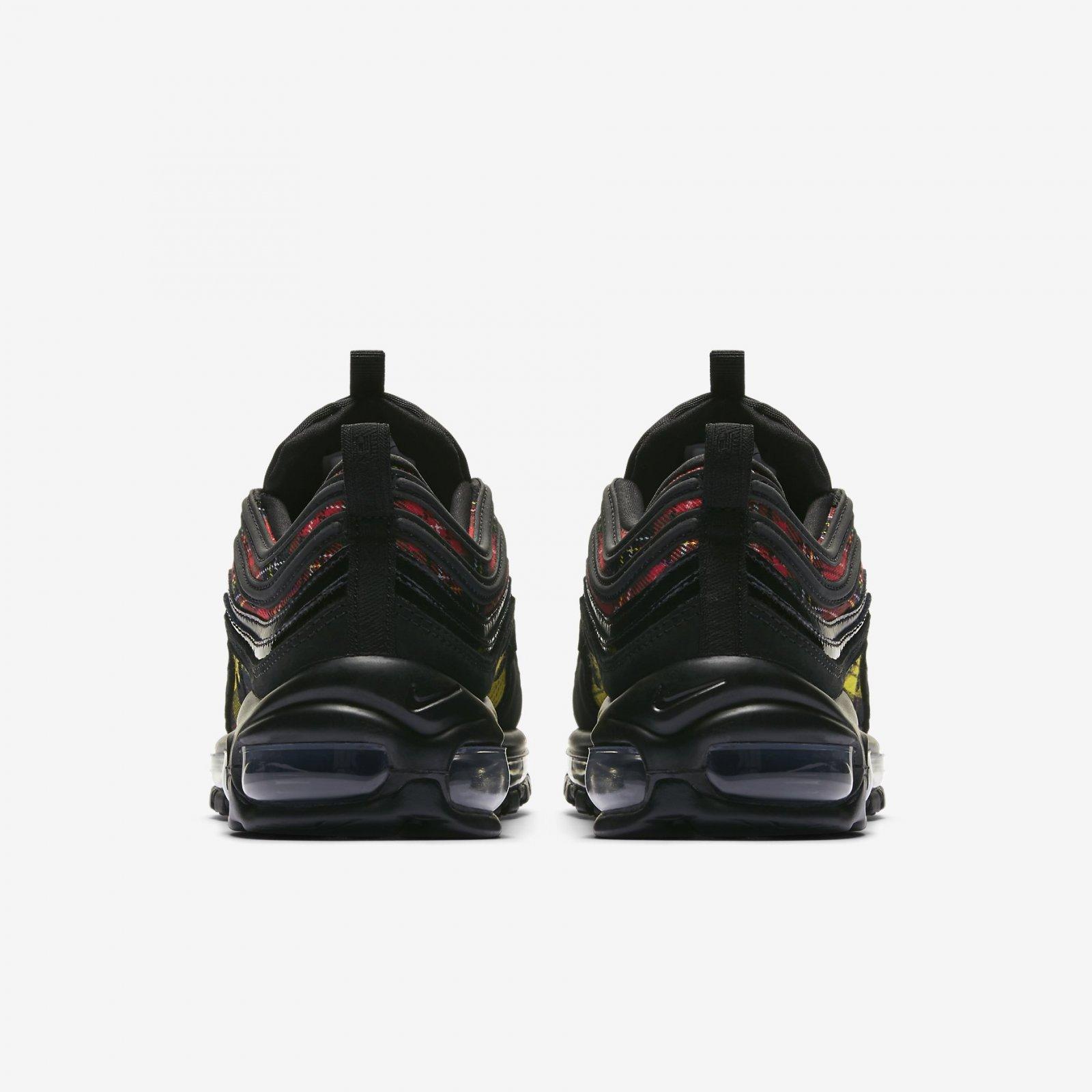 huge discount fc379 f0a03 Nike Women s Air Max 97 SE Tartan Black University Red Running Shoes  AV8220-001. Nike