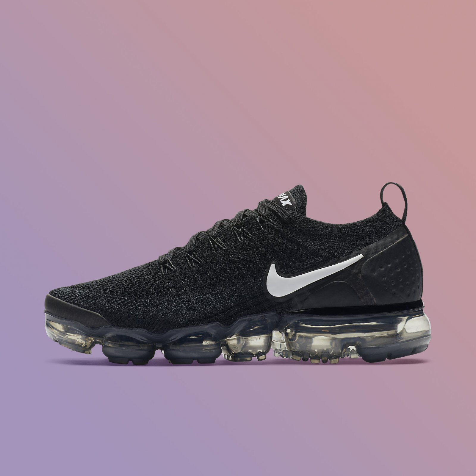 3957f5733c Details about Nike Women's Air Vapormax Flyknit 2.0 Black White Grey  Running Shoes 942843-001