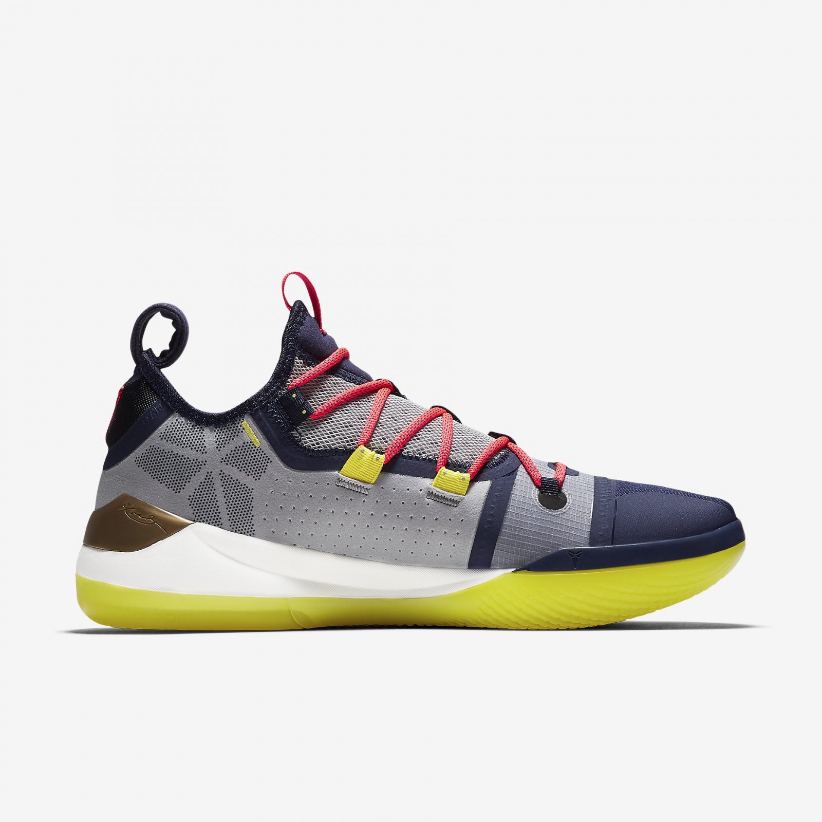 90b2a406c67 Nike Kobe AD EP Sail Multi-Color Mamba Day Men s Basketball Shoes AV3556-100.  Nike