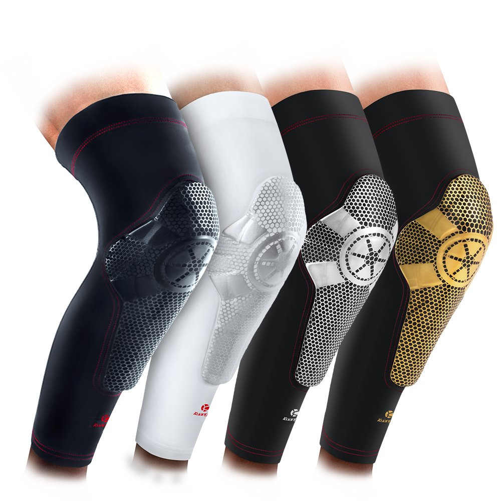 0c3e10f5c6 Kuangmi Basketball Knee Pad Shin Guard Compression Sleeve Brace 1PC ...