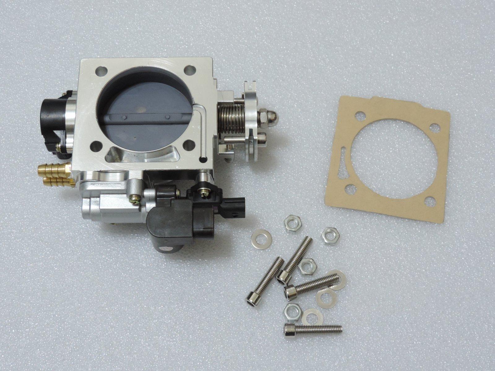Performance 70mm Throttle Body Assembly TPS For 02-05 Subaru Impreza GDB THGB1