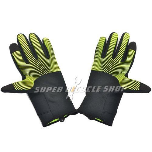 Nike Thermal Gloves: NIKE Thermal Men's Long Finger Gloves Size: L , Black X