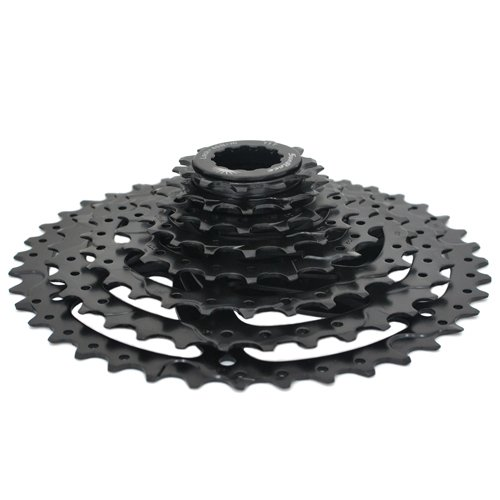 8 Speed Black SunRace CSM680 Wide Ratio Cassette 11-40T